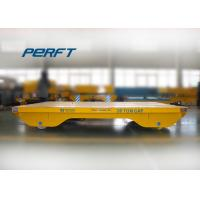 Wholesale 20 ton cable drum powered steerable dies rail transfer carts from china suppliers