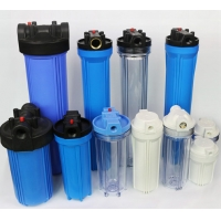 Wholesale 10 Inch Transparent ISO90001 Plastic Water Filter Housing from china suppliers