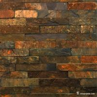 Wholesale Rust Slate Ledger Stone Panels For Siding / Veneer / Cladding Decoration from china suppliers