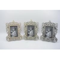 Wholesale Handmade Baroque Vintage Resin Photo Frame , Durable Resin Picture Frames from china suppliers
