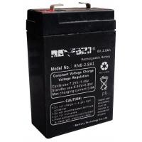 Wholesale Emergency Lighting 2.8ah 6V Lead Acid Battery 99.994% Purity Lead from china suppliers
