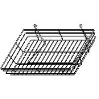 Wholesale Lilladisplay gridwall wire basket 600 x 300mm chrome 22433 from china suppliers