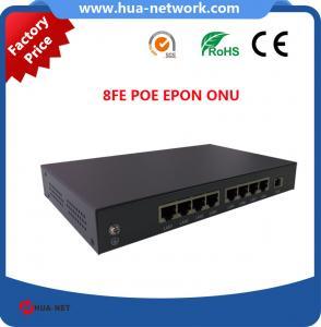 Buy cheap 8FE PoE EPON ONU/8FE PoE GEPON ONU/8FE PoE ONU EPON/PoE ONU/Fiber optic ONU from Wholesalers