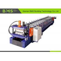 China No Nail Wall Panel Roll Forming Machine , Low Noise Cold Roll Forming Machine on sale