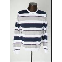 Wholesale Men′s Knitted Sweater, Cotton Pullover, Stripe Sweater (SFY-A060) from china suppliers