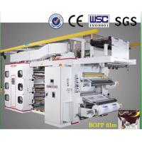 China Automatic Flexographic Flexo Printing Machine For Bopp Films & Paper on sale