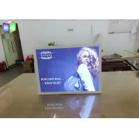 China Indoor Aluminum LED Light Box Backlit Advertising Panels For Movie Poster on sale