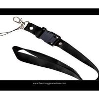 Wholesale black 20*900mm CMYK Submliamtion polyester lanyard strap with plastic buckle from china suppliers