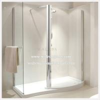Wholesale Flat Tempered Glass for Bathroom/Shower Room Silding Doors from china suppliers