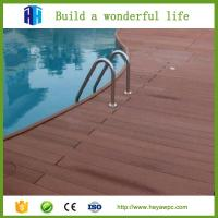 Buy cheap Water resistance wpc flooring ce certificate wood plastic composite from wholesalers