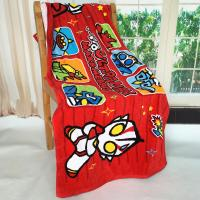 Wholesale Ultraman Personalized  Monogrammed Beach Towels Ultraman Carton Pattern from china suppliers