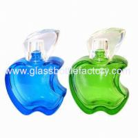 20ml Colored Apple Perfume Glass Bottle With Cap and Sprayer