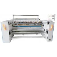 Wholesale Humanistic Vertical Structure Fabric Slitting Machine Saving Space With Hot Cutter from china suppliers