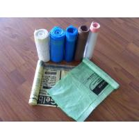 Wholesale colorful draw tape trash Bags from china suppliers