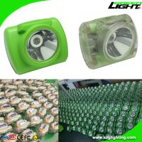 Wholesale Rechargeable Cordless Miner's Cap Lamp with Battery Capacity Display 13000 Lux from china suppliers