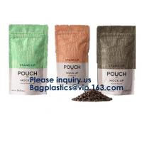 Side Gusset Bag with Spout Flat Side Seal Bag with spout Retort Pouch Vacuum Packaging Fruit & Vegetable Packaging