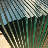 Wholesale cheap glass railing price,10mm clear tempered glass railing price m2 from china suppliers