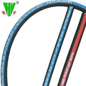 Buy cheap Custom hydraulic hoses selang hidrolik SAE 100 R1 braided hose pipe from wholesalers