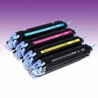 Wholesale Color Toner Cartridges, Remanufactured for HP Q6000A-Q6003A, Available in Various Colors from china suppliers