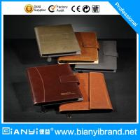 Wholesale New design leather loose leaf notebook from china suppliers