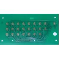 Good quality PCB Membrane Touch Switch Panel, with metal dome embossed