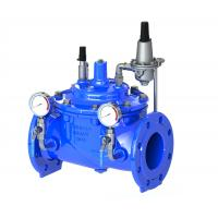 Wholesale Blue Diaphragm Water Pressure Reducing Valve With Stainless Steel 304 Pilot from china suppliers
