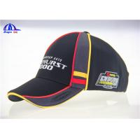 Buy cheap Munti- Panel Polyester Embroidered Baseball Caps , Women or Man Large Baseball Hat from Wholesalers