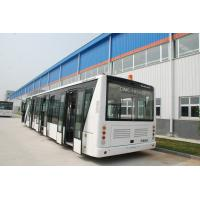 Buy cheap 110 Passenger Airport Limousine Bus , 4 Stroke Diesel Engine Airport Coaches from Wholesalers