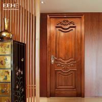 Wholesale Safety Residential Solid Hardwood Internal Doors With Handmade Carved Flowers from china suppliers