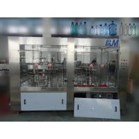 3 In 1 Automatic Water Filling Machine , Electric PET Bottled Water Production Line