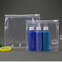 Wholesale Leak Prevention PVC Cosmetic Bag , Clear Cosmetic Bags For Travel / Beach from china suppliers