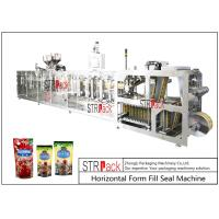 Wholesale PLC Control Stand Up Pouch Filling And Sealing Machine For ketchup / Sauce 120BPM from china suppliers