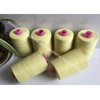 China High Tensile Strength Fire Resistant Sewing Thread 20S/3 For Nomex Dust Filter Bag Making on sale