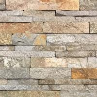 Wholesale Natural stone Cheap China Red Granite Ledge Stone, Stacked Wall Cladding DE-34 from china suppliers