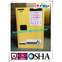 Wholesale Steel Yellow Industrial Safety Cabinets For Laboratory Flammable / Dangerous Goods from china suppliers