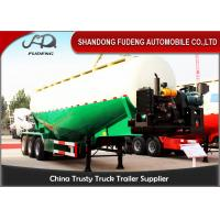 Wholesale Diesel Engine Bulk Cement Tanker Trailer With Air Compressor Volume 45 CBM - 65 CBM from china suppliers