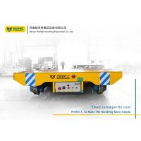 Wholesale easy to operate heavy duty 50ton battery powered flat electric transfer cart from china suppliers