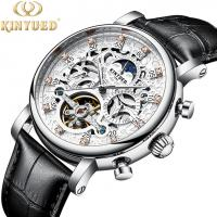 Wholesale KINYUED New Style Watches Men Luxury Watch Movement Mechanical Watch Mechanical Tourbillon from china suppliers