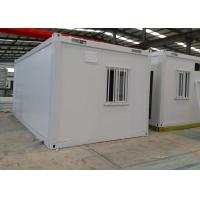 China Customized Storage Container Houses , Steel Door Metal Storage Container Homes on sale