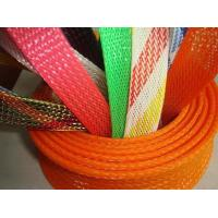 Wholesale Promotional PET Expandable nylon mesh cable sleeve RoHS UL Certificate from china suppliers