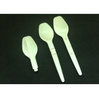 Wholesale Food-grade plastic PP material folding spoon in 92 mm length folding size 54 mm from china suppliers