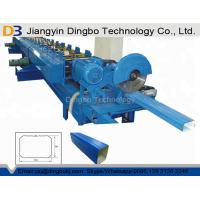 China Hydraulic Cutting Gutter Downspout Machine With Elbow 8-12 M / Min Forming Speed on sale