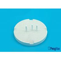 Wholesale Ceramic / Porcelain Honeycomb Firing Tray Round Shape For Dental Laboratory from china suppliers