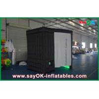 China Club Led Black Inflatable Photo Booth , Foldable Portable Photo Booth on sale