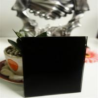 Buy cheap 4mm black painted glass from Wholesalers