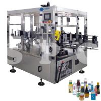 Buy cheap Automatic Self Adhesive Bottle Labeling Machine For Glass Plastic Round Bottles from wholesalers