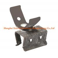 China Horizontally Spring Clip Clamp Black Phosphate Finish Accessories Usage on sale