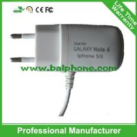 Universal EU Wall Charger Usb Travel Charger With Micro USB Cable For HTC For Samsung