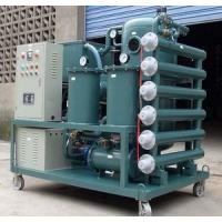 Wholesale Double Stage High Efficiency Vacuum Transformer Oil Purifier from china suppliers