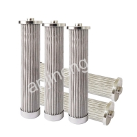 Wholesale 316L 10 Micron Hydraulic Press Oil Stainless Filter Element from china suppliers